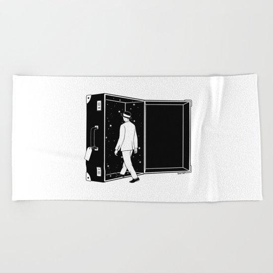 Space Traveler Beach Towel
