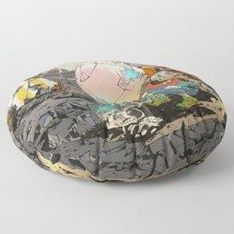 Not Alone Floor Pillow