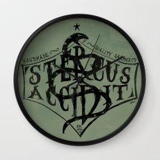 Stercus Accidit - S*** Happens Wall Clock