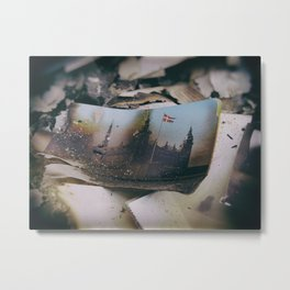 Burnt Metal Print