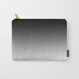 Black Ombre - Grey Monotone Carry-All Pouch