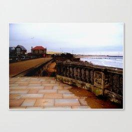the coastal images series  - blyth Canvas Print