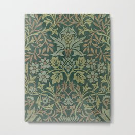 Flower Garden - William Morris Metal Print
