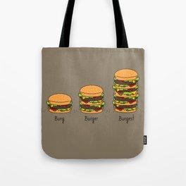 Burger explained. Burg. Burger. Burgest. Tote Bag