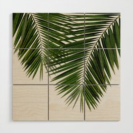 Palm Leaf II Wood Wall Art