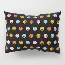 Smiley - Black Multi Pillow Sham