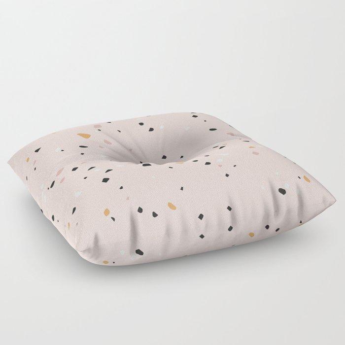 Small Terrazzo Floor Pillow By Kisforblack