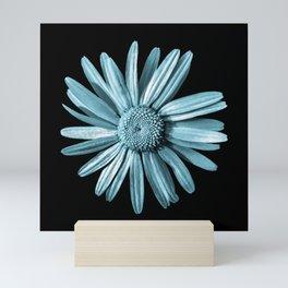 Dinged - aqua Mini Art Print