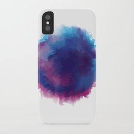watercolour iPhone Case