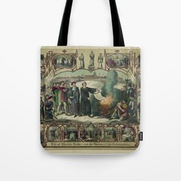 Life of Martin Luther and heroes of the reformation (1874) Tote Bag