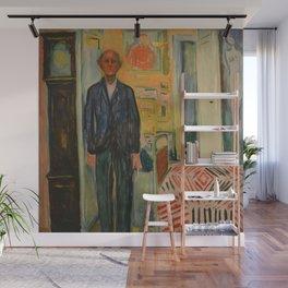 Edvard Munch - Self-Portrait Wall Mural