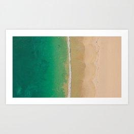 Skies About Art Print