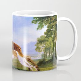 Hound Coursing A Stag - George Stubbs Coffee Mug