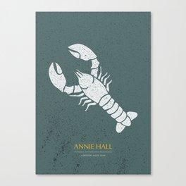 Annie Hall - Alternative Movie Poster Canvas Print