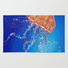 Jellyfish, Oil painting by Faye Rug