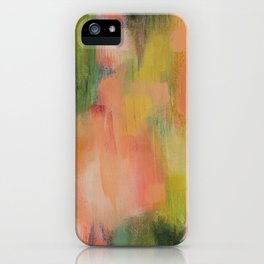 Homegrown Abstract iPhone Case