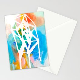 Empty nest in Spring Stationery Cards