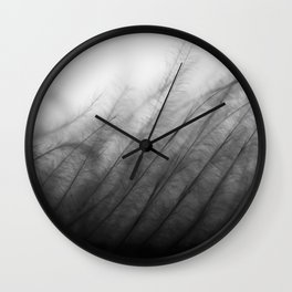Gentle Grass Wall Clock