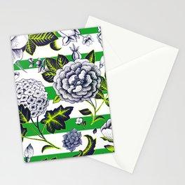 Modern Vintage Florals Stationery Cards