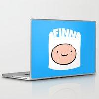finn Laptop & iPad Skins featuring FINN by Sara Eshak