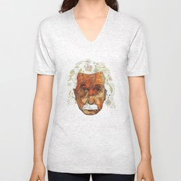Einstein Unisex V-Neck