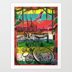 Ortaköy Art Print