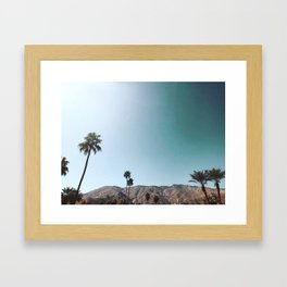 desert dreams Framed Art Print