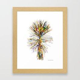 Palm 01 Framed Art Print