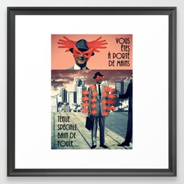 Tenue Framed Art Print