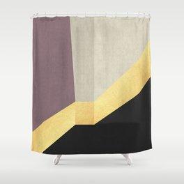 Golden line XIV Shower Curtain