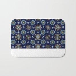 Byzantine blue Empire Bath Mat