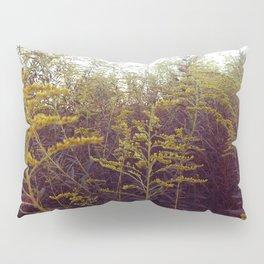 Purple and Yellow Goldenrod Pillow Sham