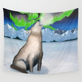 ★ ARCTIC HOWL Wall Tapestry