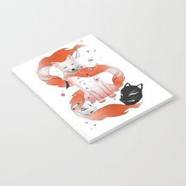 Red Kitsune Notebook