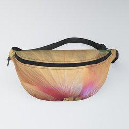 Orange Hibiscus Ruffle Fanny Pack