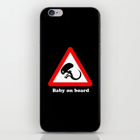 Baby on board iPhone & iPod Skin
