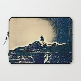 A Light In The Tempest Laptop Sleeve