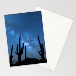Milky Way, Dreams and Succulents Stationery Cards