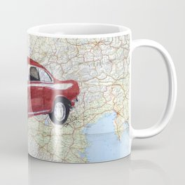 Alfa Romeo in the Alps Coffee Mug
