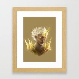 Crystal Contamination 1 Framed Art Print
