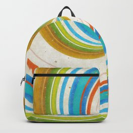 Swirling Retro Candy Pop Backpack
