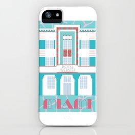 Miami Landmarks - Hotel Webster iPhone Case