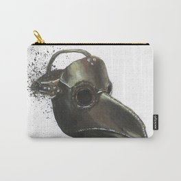 Plague Doctor - Empty Masks Carry-All Pouch
