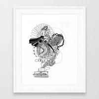 technology Framed Art Prints featuring Technology by Christina Grace Vergona