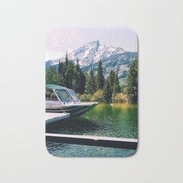 Jenny Lake Boat Bath Mat