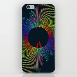 Color Spectrum Spin 1 iPhone Skin