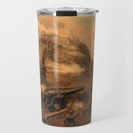 Civil War Capture of Fort Fisher by J.O. Davidson Travel Mug