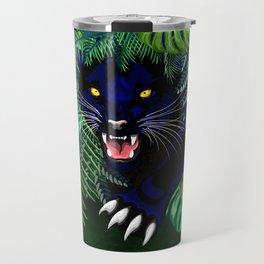 Black Panther Jungle Spirit Travel Mug