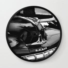 Dodge Hood Wall Clock