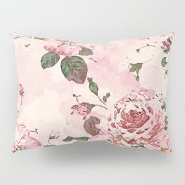 Roses Blossom Pillow Sham